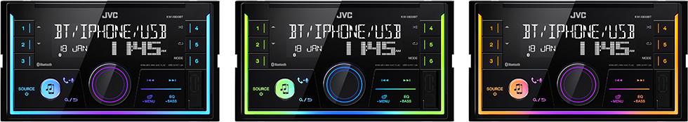 JVC KW-X830BT -